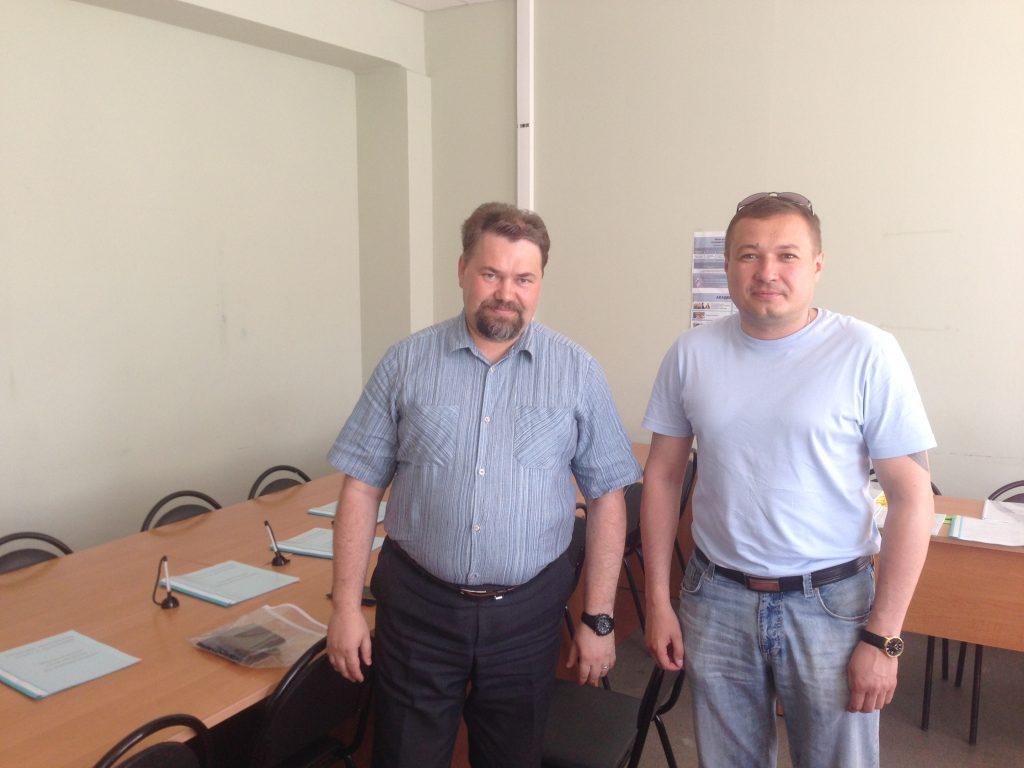 Ректор КРАГСиУ с первым абитуриентом 2016